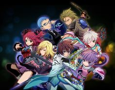Tales Of Grace F  Mystic Arte Illustration