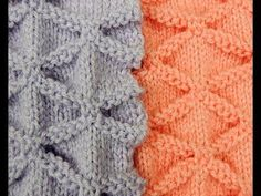 Two Needles : Fantasy Pattern # 3 Knitting Paterns, Knitting Basics, Crochet Stitches Patterns, Knitting Videos, Lace Knitting, Knitting Designs, Knitting Stitches, Stitch Patterns, Vogue Knitting
