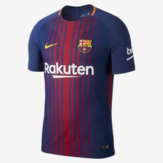 ea6a3a338 Nike lionel messi fc barcelona authentic vapor match home jersey 2017 18