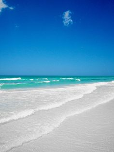 Siesta Key Beach :) love it!!! Can't wait for it to be summer so I can go to the BEACH!