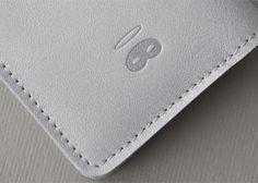 Image of Porte-cartes grey glitter