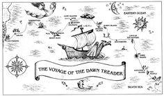 dawn treader route