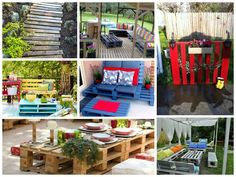 Outdoor ideas with pallets