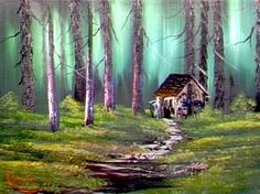 Cabin in the Woods - The Joy of Painting S4E7