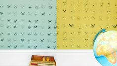 I love The Cats and Dogs wallpaper series at the Collection by Eliza Fricker. Both prints come in different colors, and I can't decide where I'd put it, but I'd love to have it somewhere in my house. You can...