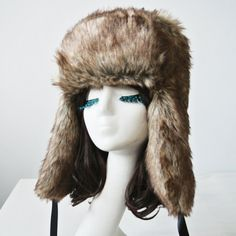 Chic Fluffy Fluff and Ribbons Decorated Bomber Hat For Women