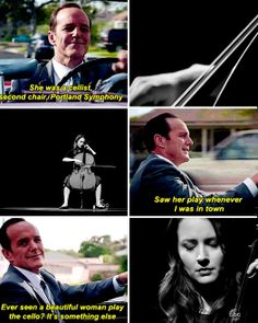 I loved hearing Coulson talk about her! He loves her so much! <3 | Agents Of S.H.I.E.L.D.