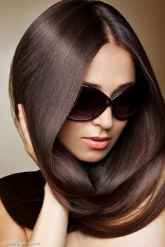 What if you place baby fine level 3 Violet low lights into level 6 Mocha demi permanent or level 5 Mocha permanent haircolor. You could get a really pretty cool light/medium brown