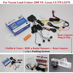 Nice Lexus: (57.86$)  Buy here  - For Toyota Land Cruiser J200 V8 Lexus LX570 - Car Parking ...  ☃Online shoping Check more at http://24car.top/2017/2017/05/02/lexus-57-86-buy-here-for-toyota-land-cruiser-j200-v8-lexus-lx570-car-parking-%e2%98%83online-shoping/