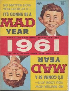 Alfred E. Neuman is the best! Memories of reading Mad on the train ride home from school.