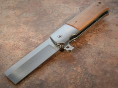 live on the edge bring one of these with--- Reese Weiland Knives Slash