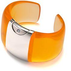 Armida Touch bracelet - fragrance dispenser  Orange    @armidatouch  http://www.armidatouch.com/create-bracelet