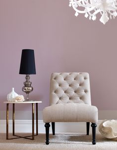 What about super light mauve horizontal stripes in the front room?