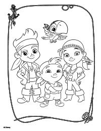 8 best jake coloring pages images on pinterest pirate party