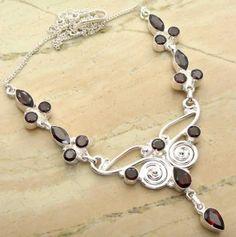 15.00ctw Garnet Quartz & .925 Sterling Silver Plated Brass Necklace (SJHN0094G) #fashionnecklaces #beautifulnecklaces #cheapnecklaces #silvernecklacesforwomen #necklacependants #silvernecklaceslong #silvernecklace #personalizednecklaces #womensnecklace #silvernecklaceformen #menssilvernecklace #mennecklaces #mensnecklaces #gemstone necklaces Buy Now:  http://www.sterlingsilverjewelry.tv/genuine-garnet-quartz-silver-plated-brass-y-necklaces-sjhn0094g.html