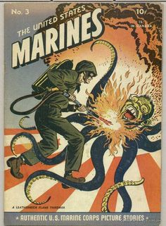 WW2 propaganda comic book cover