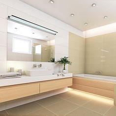 Die 15 besten Bilder von Badbeleuchtung | Bathroom ideas, Bathroom ...