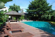 Hay intercambios de casa en todas partes del mundo, también en #Tailandia. Esta casa familiar con piscina sería un buen lugar donde pasar las vacaciones, verdad?