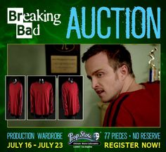 image for 'BREAKING BAD Auction PLUS Giveaway'
