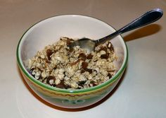 Overnight Oatmeal with Apricots and Dates
