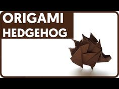 [DIAGRAM] Origami Hedgehog (Sergey Yartsev) - YouTube