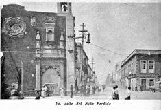 Mi México Antiguo La Leyenda De La Calle del Niño Perdido