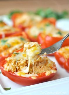 Mexican Chicken Roasted Stuffed Peppers Made 9/30/2015. Mason liked it. It was really good. I used 2cups cubed chicken breast and 3/4 c dry quinoa instead of couscous. 9/19/16 - Jason finally admitted that he just doesn't like these. Make for Mason