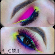 Pink, blue, & yellow