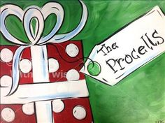 painting with a twist christmas art | ... Holiday Gift - La Marque, TX Painting Class - Painting with a Twist