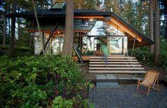 Sneeoosh Cabin by Zeroplus Architects | DesignRulz