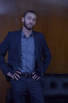 Jake McLaughlin as Ryan Booth. Quantico.