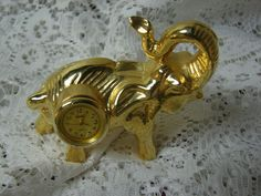 Elephant Miniature Clock