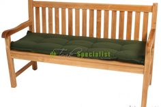 Tuinbank kussen 120 cm dralon groen