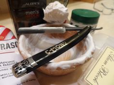 The C-Mon paired with my Semogue 830 boar-bristle brush--probably my favorite brush. The Proraso preshave cream and shaving cream are both excellent.