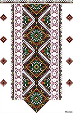cross stitching ukrainian embroidery Just Cross Stitch, Cross Stitch Borders, Cross Stitch Charts, Cross Stitching, Cross Stitch Embroidery, Cross Stitch Patterns, Embroidery Patterns Free, Loom Patterns, Blackwork