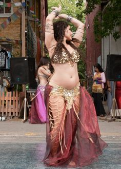 "belly dance curves. It's amazing to me that belly dancers are strong and fit, but they still have beautiful feminine curves including the natural ""female pooch"" on their belly."