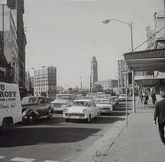 Railway Square, Sydney, Photo taken from the Regent Street., corner in Photo shared by the City of Sydney Archives. Holden Australia, Terra Australis, As Time Goes By, Blue Mountain, East Coast, Old Photos, Worlds Largest, Spotlight, Photo Art
