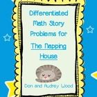 """Math story problems for 1st graders to go along with the book """"The Napping House"""" by Don and Audrey Wood.  This download contains ..."""