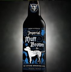 Stone Steve Via & Drew Neldon's Imperial Mutt Brown Ale will launch nationally in April, 2015
