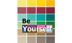 Be yourself color