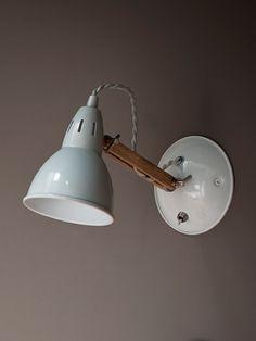 Wood and Metal Wall Light - Wall Lighting - Lighting