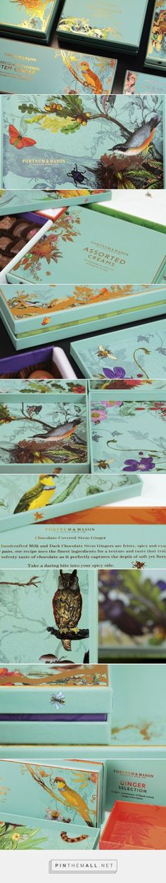 Design Bridge Work on Fortnum & Mason get ready for some chocolate packaging love curated by Packaging Diva PD
