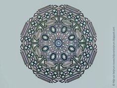 Equation of Infinity, abstract Geometric art,Hilje van Beijnum
