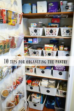 Top 10 tips for organizing the pantry