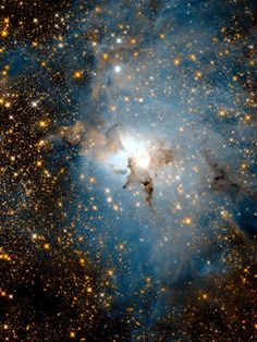 NASA's Hubble Space Telescope is, incredibly, about to reach its birthday. And to celebrate, NASA has released a stunning view of a nebula inside our