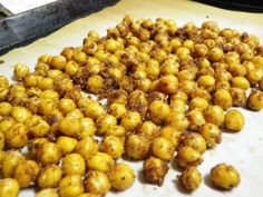 Spicy Roasted Chick Peas