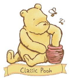 39 best winnie the pooh tattoos images on pinterest winnie the rh pinterest com classic pooh clipart Classic Winnie the Pooh Characters