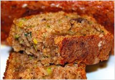 Whole-Wheat Vegan Zucchini Bread recipe. Our bud, Maddie, made this for us and it was Ammmmazing. #vegan #yummies