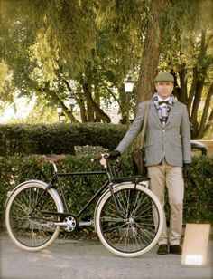 #Pilen tuneada para la Tweed Ride Stocholm. www.avantum.info/pilen