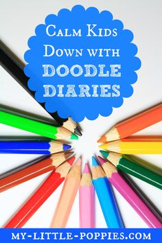 Calm Kids Down with Doodle Diaries: As the holidays approach, the energy is HIGH. Here is a simple parenting strategy that promises to calm those children down, and it will also calm you too! Coping Skills, Social Skills, Doodle Diary, Art Books For Kids, Dancing In The Kitchen, Hands On Activities, Calming Activities, Time Activities, Healthy Kids